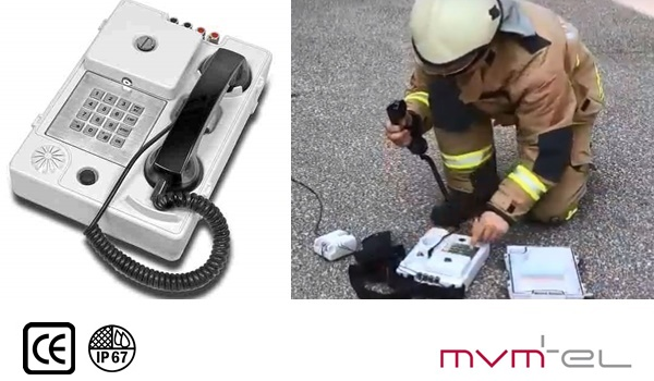 rapid deployment telephone and quick deployment telephone for crisis management, disaster, emergency, APM40