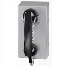 vandal proof telephone with 3 call buttons