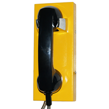 wall mounted autodialling vandal proof watertight IP65 telephone freephone