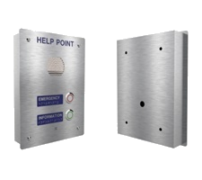 ip65 watertight emergency and help intercom - analogue voip sip or 3g