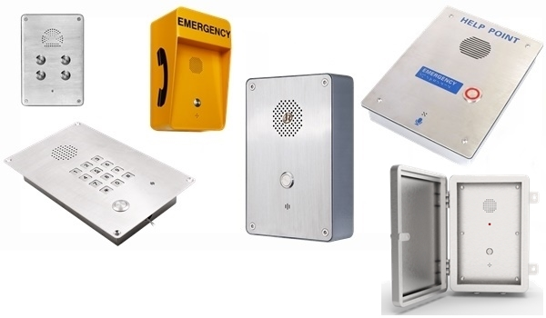 emergency intercom, push to call, heavy duty door entry intercoms,