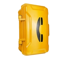 emergency telephone door closed casing