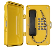 Weather Resistant IP66 Industrial Telephone with Fully Keypad