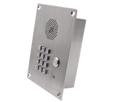 cleanroom Telephone or Intercom Stainless Steel Flush or Wall Mounted Options