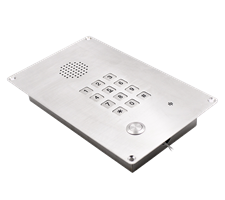 cleanroom, industrial stainless steel telephone or intercom, ip65, water resistant,