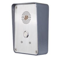 External Robust Steel Intercom and Telephone IP66 Watertight for Industrial and Service Use