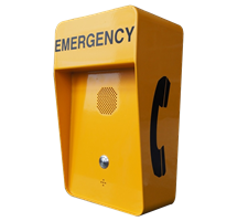 Vandal Resistant Watertight IP66 Push to call Hotline or Intercom for Emergency and Industrial Application