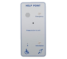 External robust IP65 help point