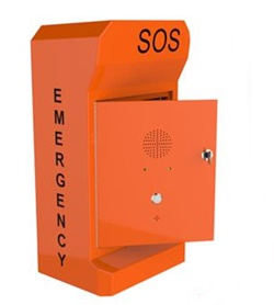 Wall Mounted  Vandal Proof IP66 Emergency Autodial Call Point